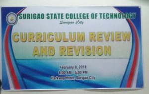 SSCT Conducts Curriculum Review