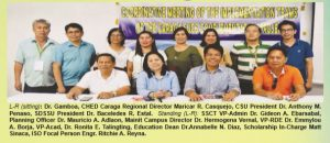 CARAGA SUCs Complementation Project Holds Meeting at SSCT