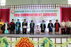 49th Commencement Exercises (21st Chartered College Graduation)