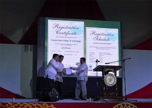 Surigao State College of Technology Now ISO 9001:2015 Certified