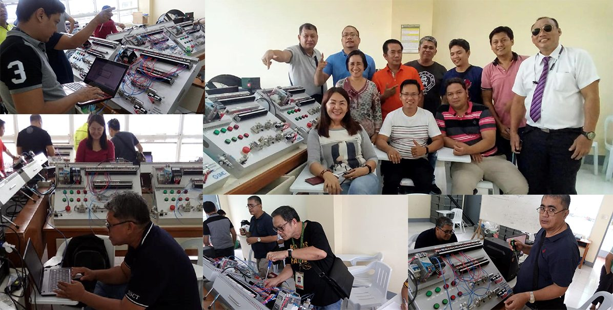 Industrial Automation and Electro Pneumatic Control Training Conducted