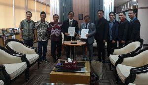 MOU between SSCT and Institut Teknologi Sepuluh Nopember (ITS) Signed in Surabaya, East Java, Indonesia